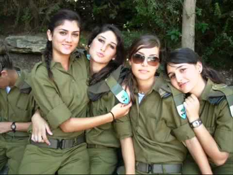 Girls Of The Israeli Military