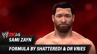 WWE 2K14: Sami Zayn CAW Formula By Shattered! & Dr Vries