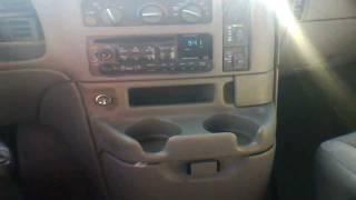 2003 Chevrolet Astro Van Start Up, Quick Tour, & Rev - 139K