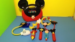 Disney Junior Mickey Mouse Clubhouse Doctor Kit Playset