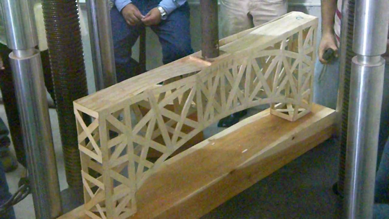 Como Hacer Un Puente De Palitos
