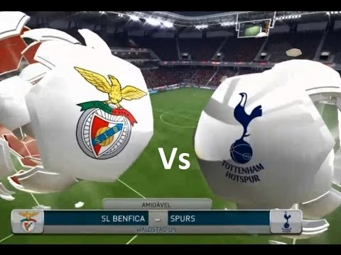 SL BENFICA x TOTTENHAM | FIFA 14 PC (1 - 2)