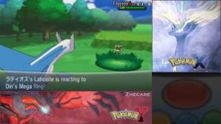 Pokémon X & Y Formas Normal Y Shiny De Mega Latios Y