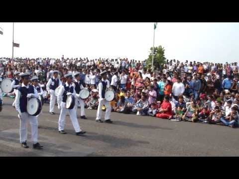 Republic day grand parade at Marine Drive, Mumbai - India - 26th Jan 2014 - Part 10