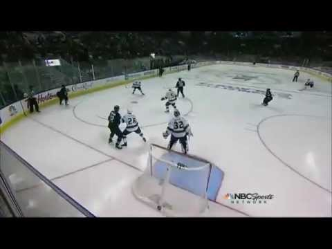 Logan Couture Overtime Goal - Yakupov Celly - Game 3 - LA Kings vs SJ Sharks - May 18th 2013