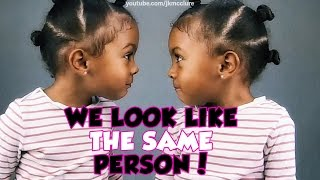 TWINS REALIZE THEY LOOK THE SAME   TWIN TALK