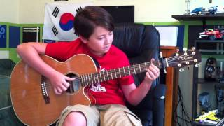 Foster The People Pumped Up Kicks Fingerstyle Acoustic