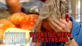 The WORST CHEFS On Kitchen Nightmares | Livestream Loop