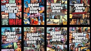 GTA History ALL Grand Theft Auto Games (GTA1, GTA2, GTA3