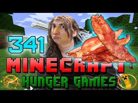 Minecraft: Hunger Games w/Mitch! Game 341 - BACON BROTHER!