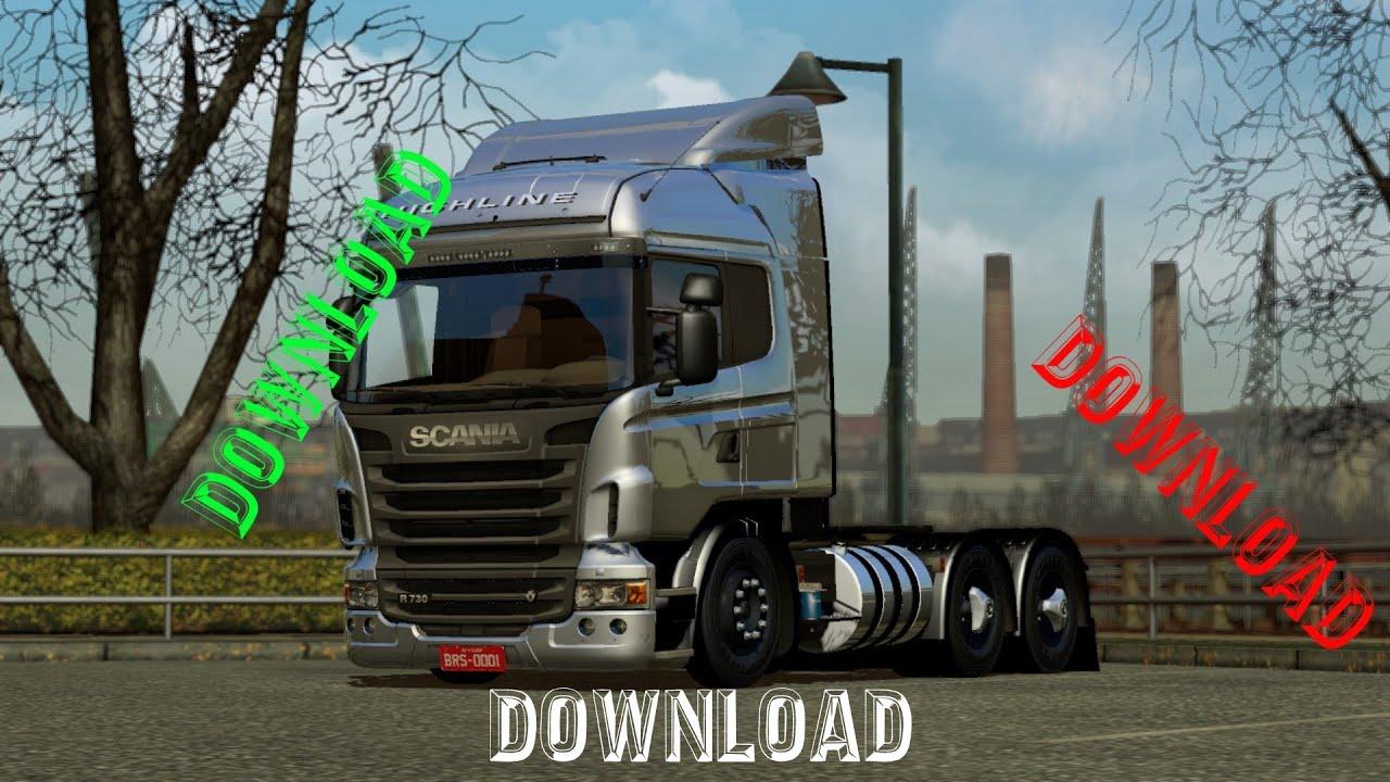 Scania Edit By BrunoRs3D, Vlw Pelos 700 Inscritos