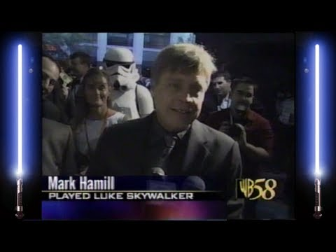 Star Wars Episode III Revenge of the Sith Modesto Premiere featuring Mark Hamill