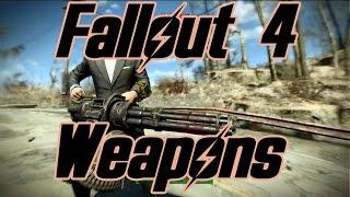 Демонстрация оружия в Fallout 4