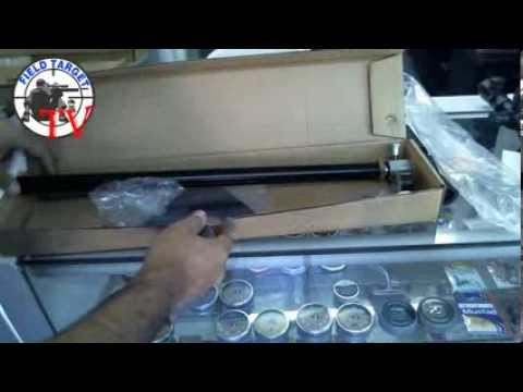 Unboxing Bombin Shark DM Inflador rifles PCP FieldTarget TV