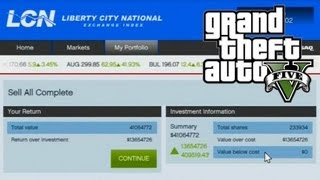 GTA V Enriquecendo No Mercado De Ações, O Que Sabemos