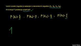 Verjetnost 5 – kdaj je funkcija P verjetnost?