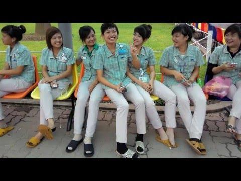 MỘT NGÀY QUA SEV (Samsung Electronics Vietnam)