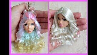 Barbie Hairstyle ✂ Barbie Hair Tutorial 💇 Hermosos Peinados Para Barbie 2018