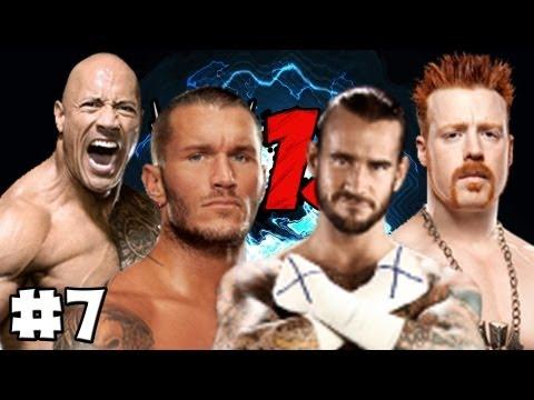 WWE 13 - Universe Mode - Episode 7 (Raw & Smackdown) (HD) (Gameplay)