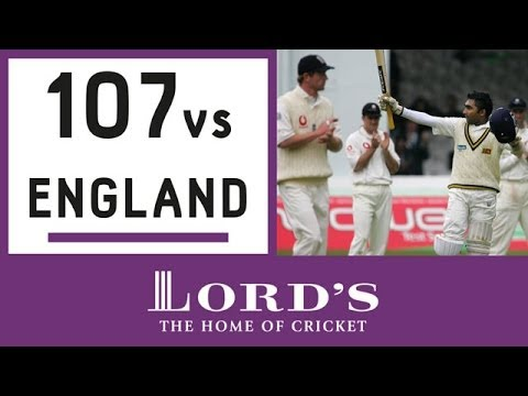 Mahela Jayawardene's 107 vs England | Honours Board Legends