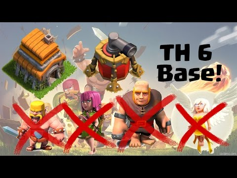 TH6 Base I Anti Giant Healer I Anti Giant Barch I Trophy Base & War Base I w/Air Sweeper