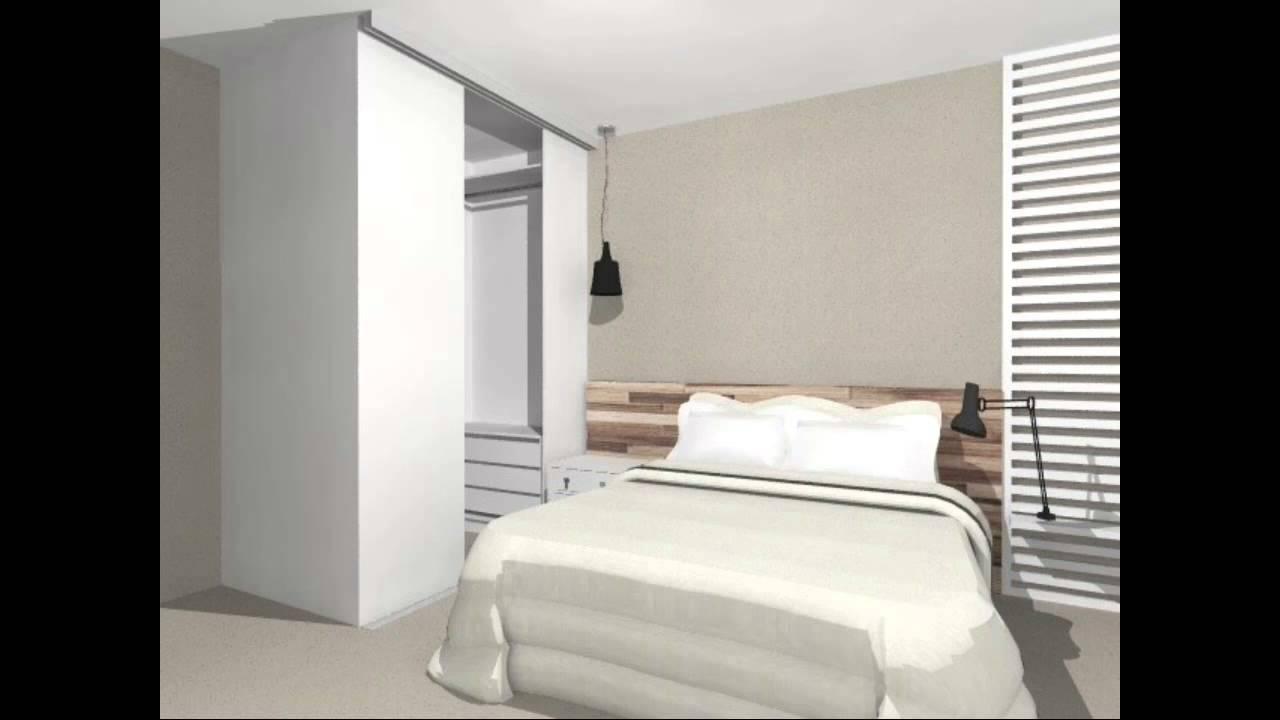 Quarto de casal com closet moderno e descolado youtube for Working closet modernos