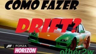 Forza Horizon Drift Como Configurar