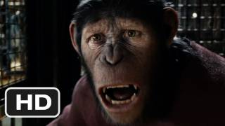 Rise Of The Planet Of The Apes HD Trailer 2 (2011