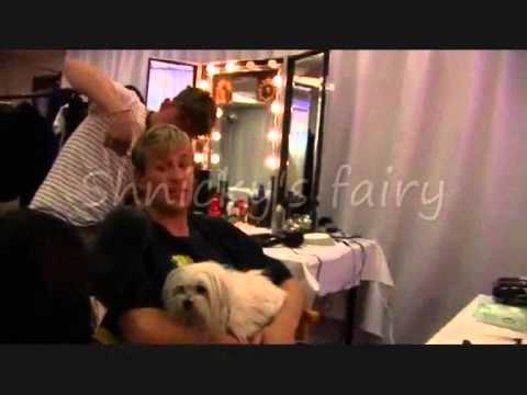 Westlife Kian Egan Backstage at the O2 blueroom 2010 (Part 1)