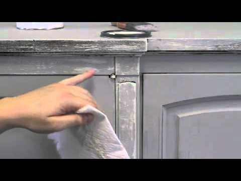 Youtube Distressing White Furniture With Chalk Paint