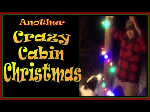 ANOTHER CRAZY CABIN CHRISTMAS WITH A BORDER COLLIE. The Night Before Christmas Run-A-Muck.