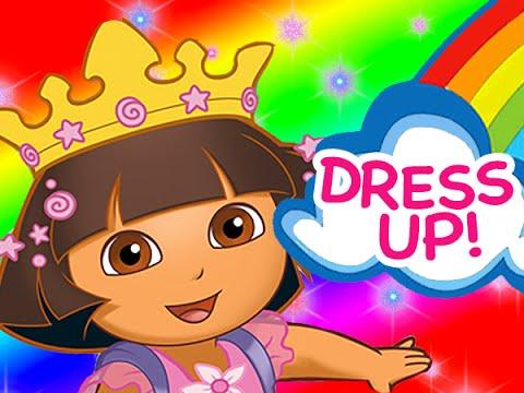 Dora the Explorer | Dora's Dress Up Adventures NEW Full Game 2014