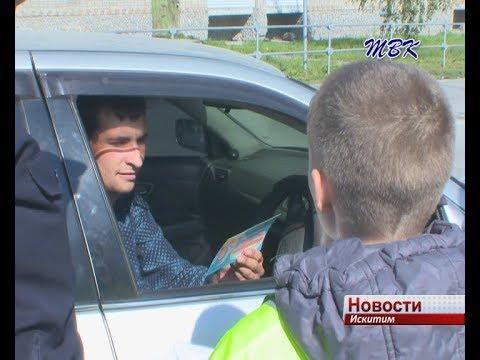 «Безопасный маршрут» изучили школьники и участники дорожного движения в Искитиме