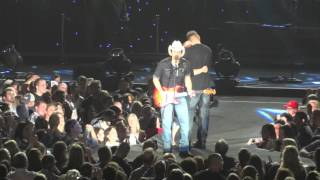 Brad Paisley - She's Everything(with a proposal and dance) Bloomington, IL(3-12-16)