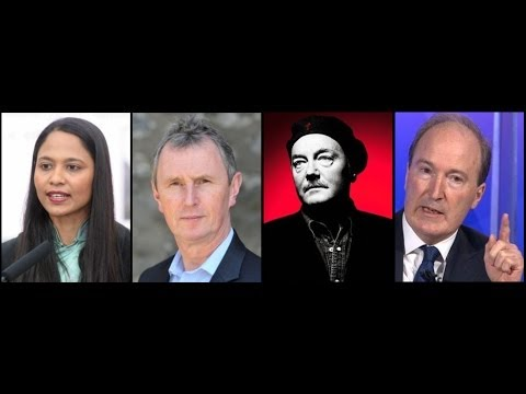 George Galloway debates Charles Moore, Nigel Evans and Rushanara Ali - Any Questions - BBC Radio 2