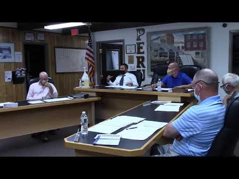 Peru Town Board Meeting  6-22-20