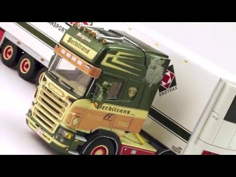 Model Truck world: WSI Perditrans Scania R Series Topline & Refrigerated Trailer