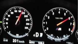 2012 BMW M5 (F10) 560 PS 0-200 km/h Acceleration Beschleunigung videos