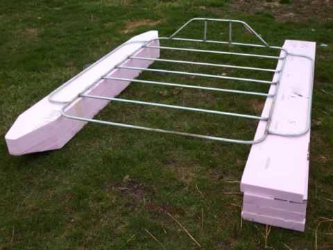 pontoon boat build pt1.wmv - YouTube