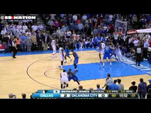 Shawn Marion, Dallas Mavericks off-screen defense block