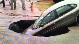 "Indiana ""Sinkhole Swallows Family Car"""