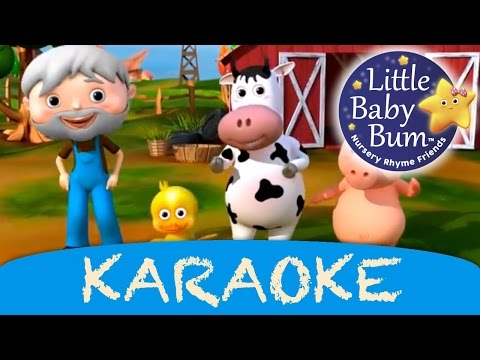 Karaoke: Old MacDonald Had A Farm - Instrumental Version HD
