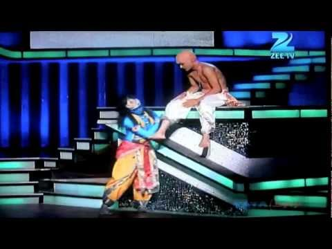 Sneha Gupta and Pradeep gurung Dance India dance season 3 part19th feb 2012, Zenith dance company