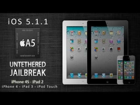 Jailbreak Untethered iOS 5.1.1 con Absinthe 2.0.4 Para iPad 3,2,1 - iPhone 4S,4,3GS - iPod Touch 3,4 - pcook.ru