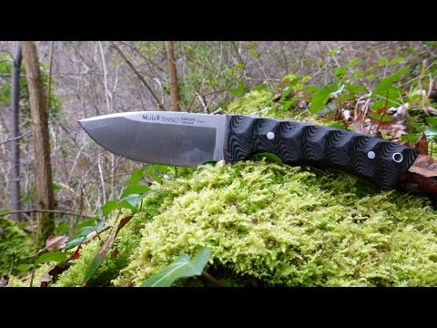 Muela Rhino Knife review English Language