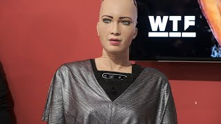 CES 2019: AI robot Sophia goes deep at Q&A