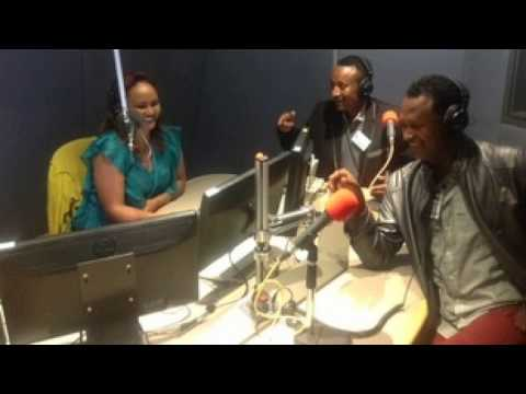 Interview with stand-up comedians Meskerem Bekele and Kebebew Geda - Interview with stand-up comedia