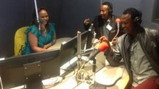 Interview with stand-up comedians Kebebew Geda and Meskerem Bekele