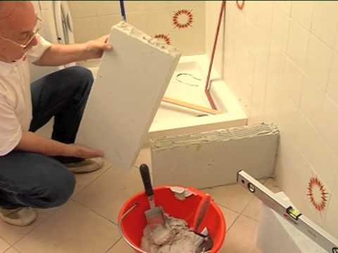 Rinnovare il bagno 1 parte tinteggiatura e muretti - Ristrutturare il bagno fai da te ...