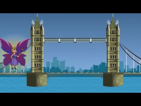 Nursery Rhymes - London Bridge is Falling Down -T55pxHah3K8